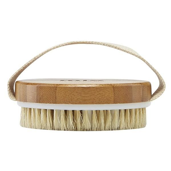 Dry skin brushing