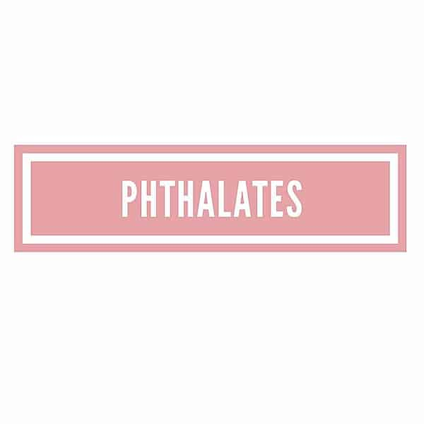 The Ingredient Edit …. Phthalates
