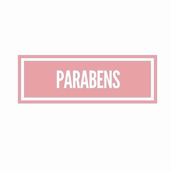 The Ingredient Edit ….. Parabens