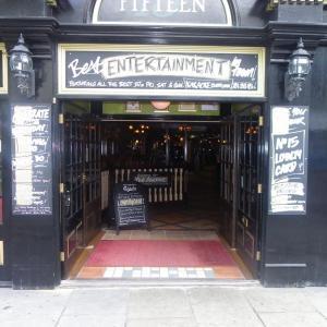 pub front