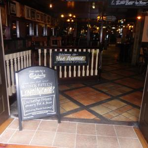 Fifteens Doncaster pub front and sign