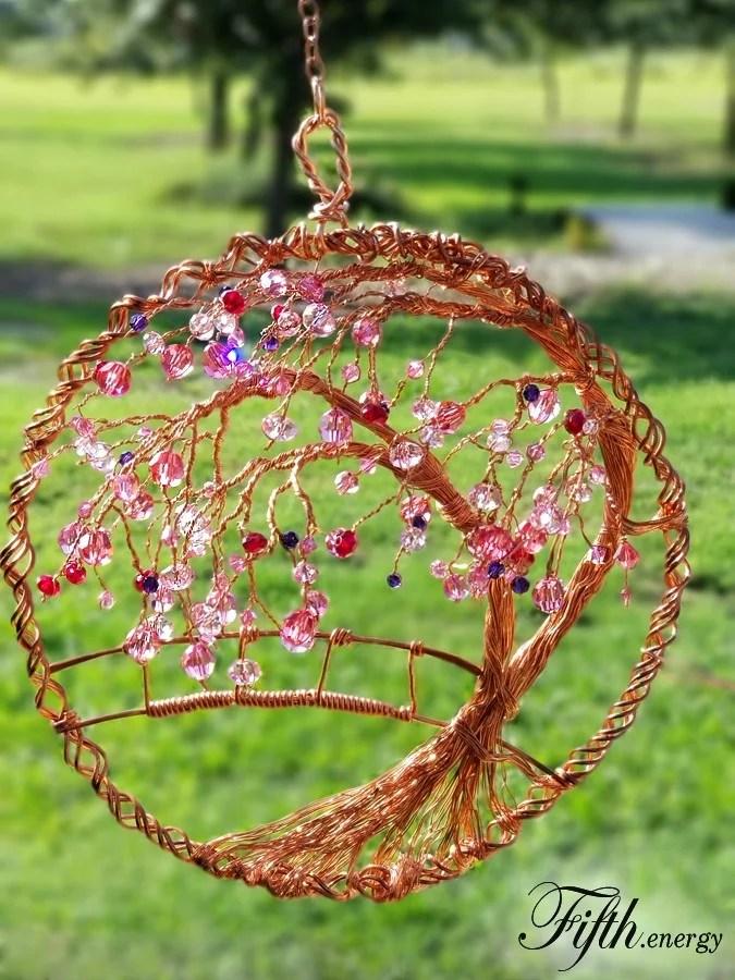Cherry Tree Suncatcher