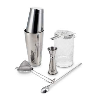 Professional Series Shaken and Stirred Barware Set Fifth & Vermouth