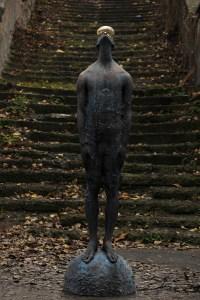 Giant Raindrop Ukrainian artist Nazar Bilyk