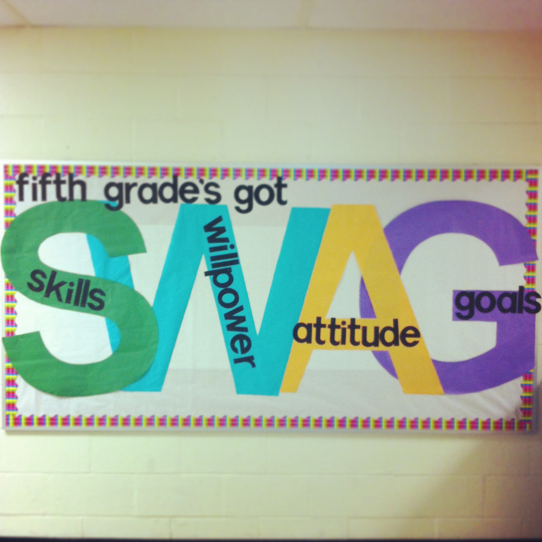 Fifth Grade Swag