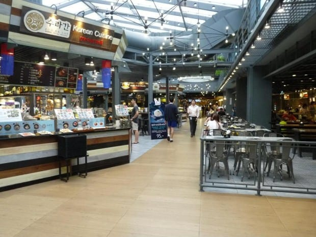Food Republic at Siam Centre at 5:30PM Monday