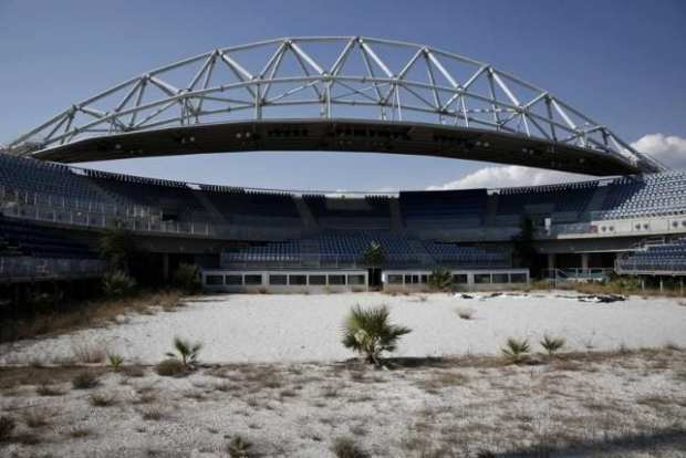 Greece Olympics Beach Volleyball Stadium (2014)