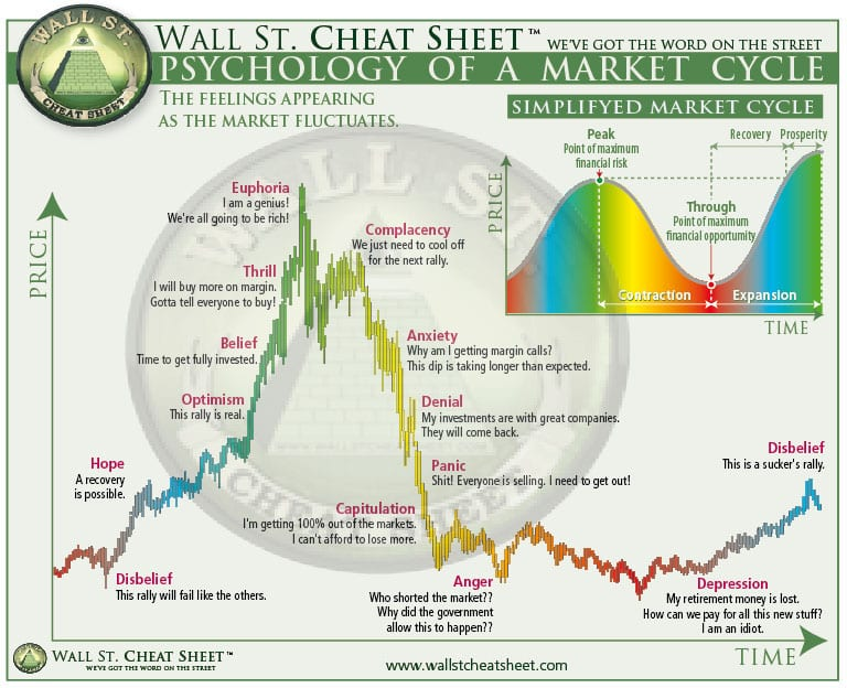 Anatomy Of A Bubble Buying The Dip Cryptocurrency