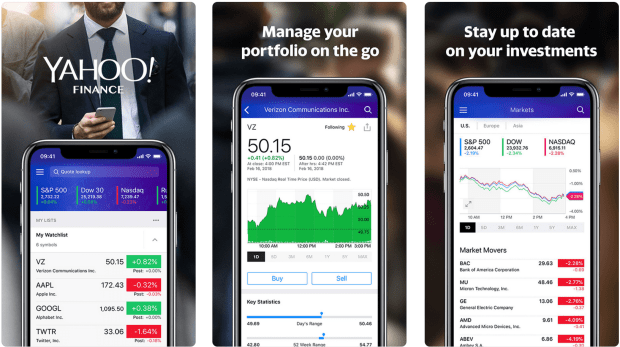 4 free investment apps to track your stock portfolio performance