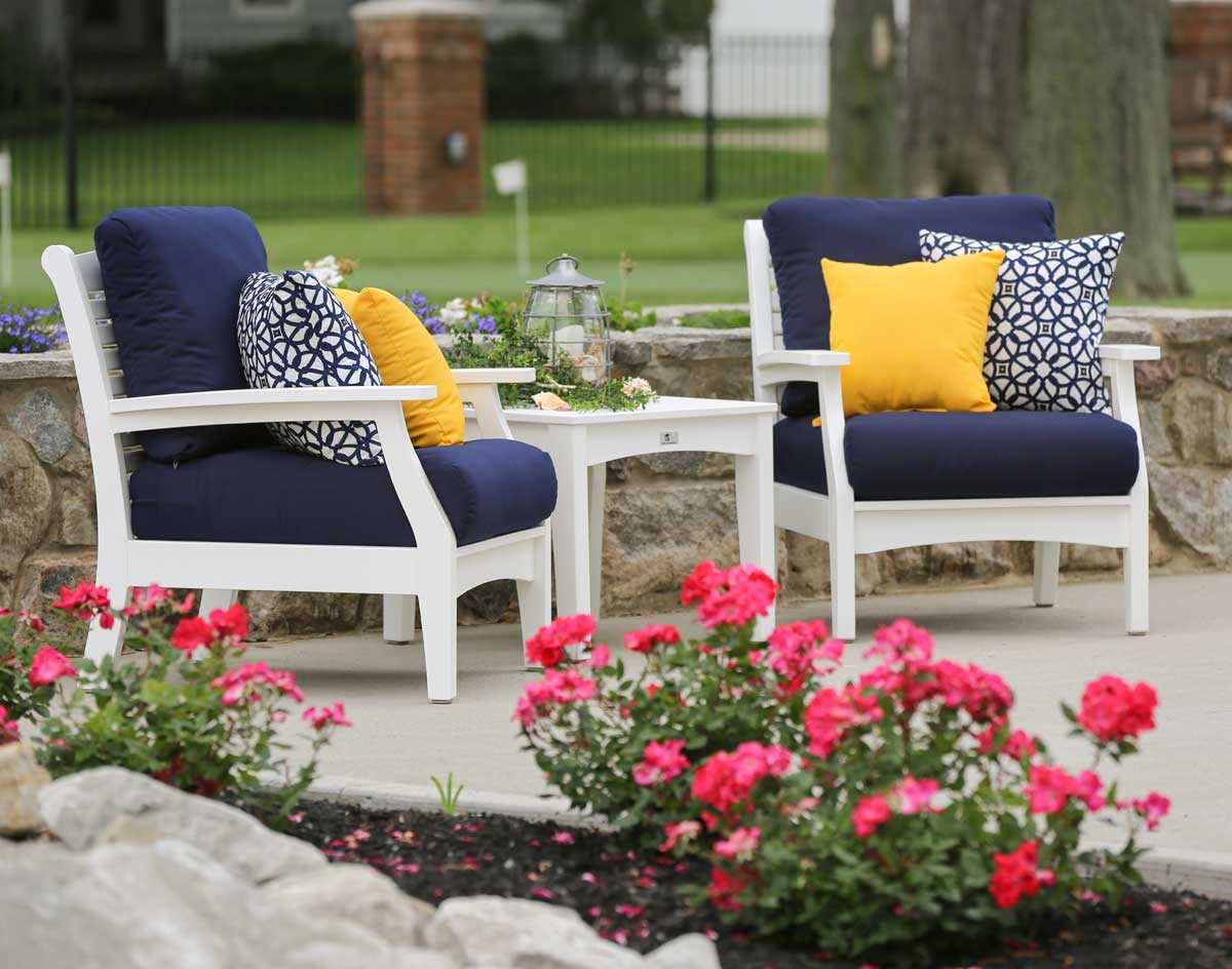 Poly Lumber 3 Piece Classic Terrace Deep Seating Set W