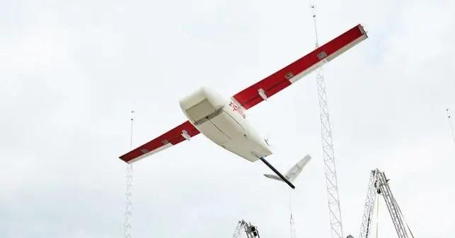medical drone in ghana zipline
