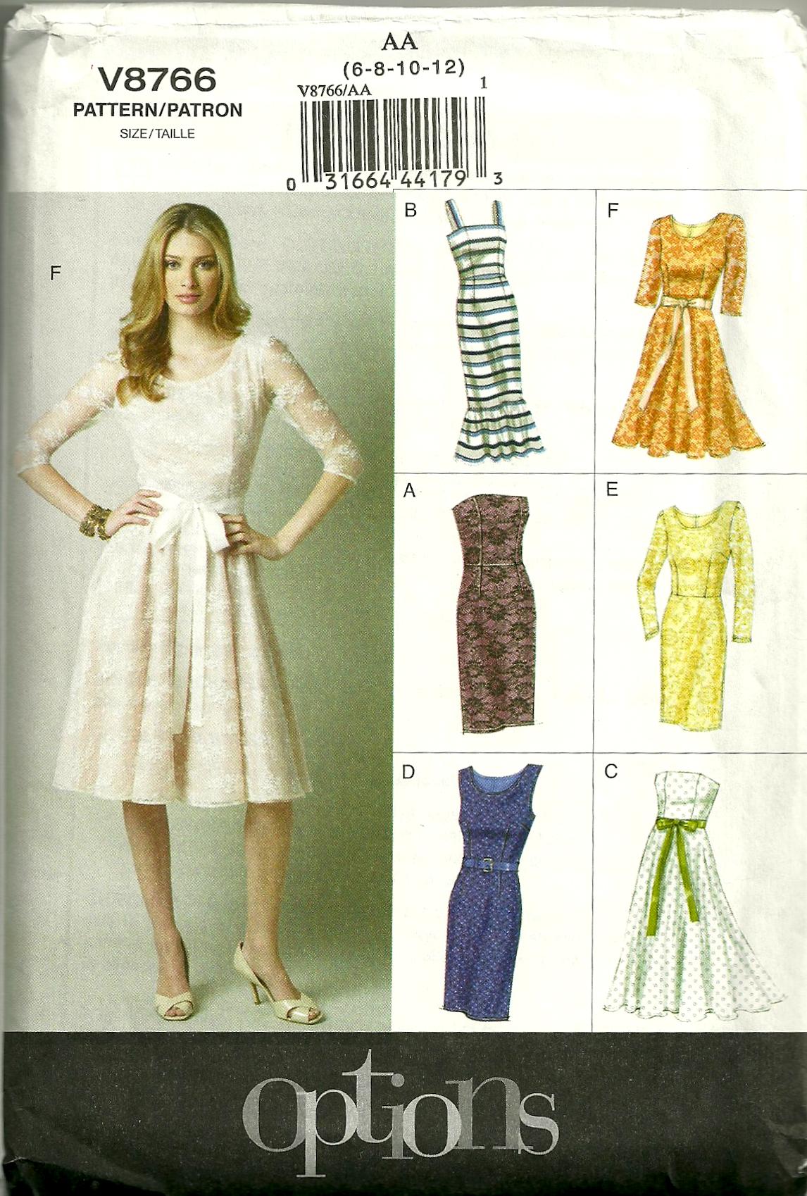 Vogue Patterns Fiftydresses