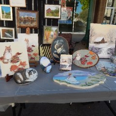 Tole Painting and Art Displays