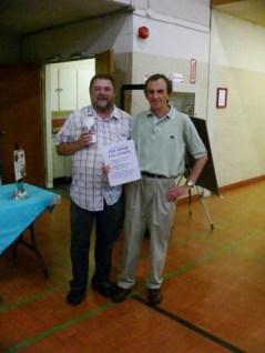 Bill Checkley & Prez. Tony