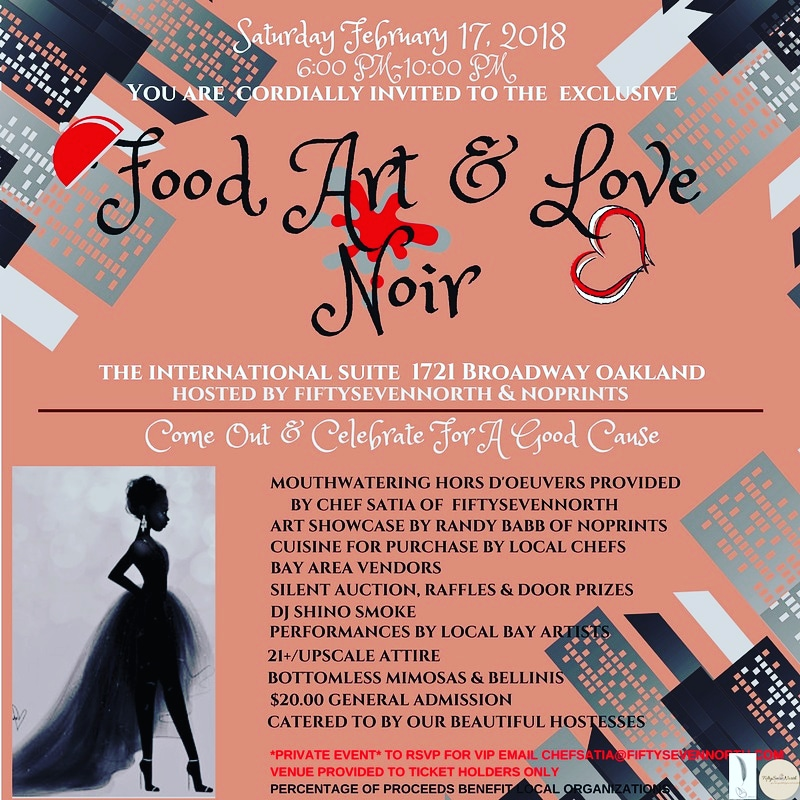Food, Art & Love Noir