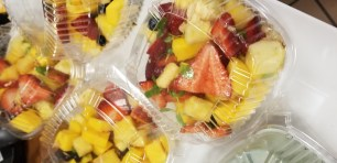 Ginger Laced Fruit Salad