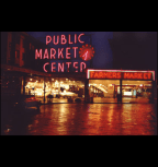 Pike Place Market In The Evening