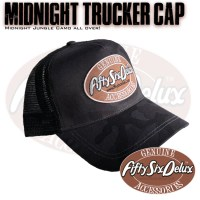 Midnight Jungle Trucker Cap