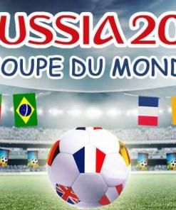 Accessoires Supporter Coupe du Monde de Football 2018