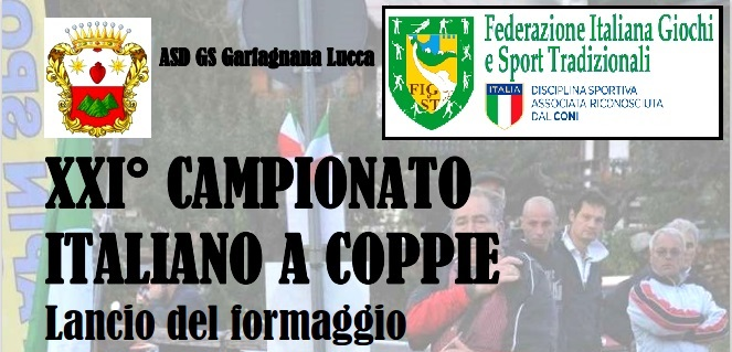 XXI CAMPIONATO ITALIANO A COPPIE DI LANCIO DEL FORMAGGIO