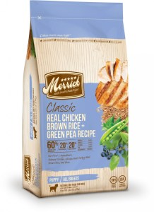 Merrick Puppy Classic Real Chicken Brown Rice and Green Pea Recipe Dry Dog Food