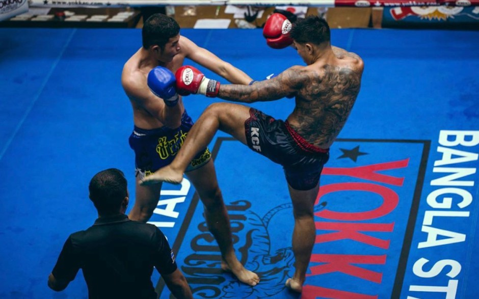 Henry Lee takes on Omar Ahmed in a Muay Thai bout this weekend.