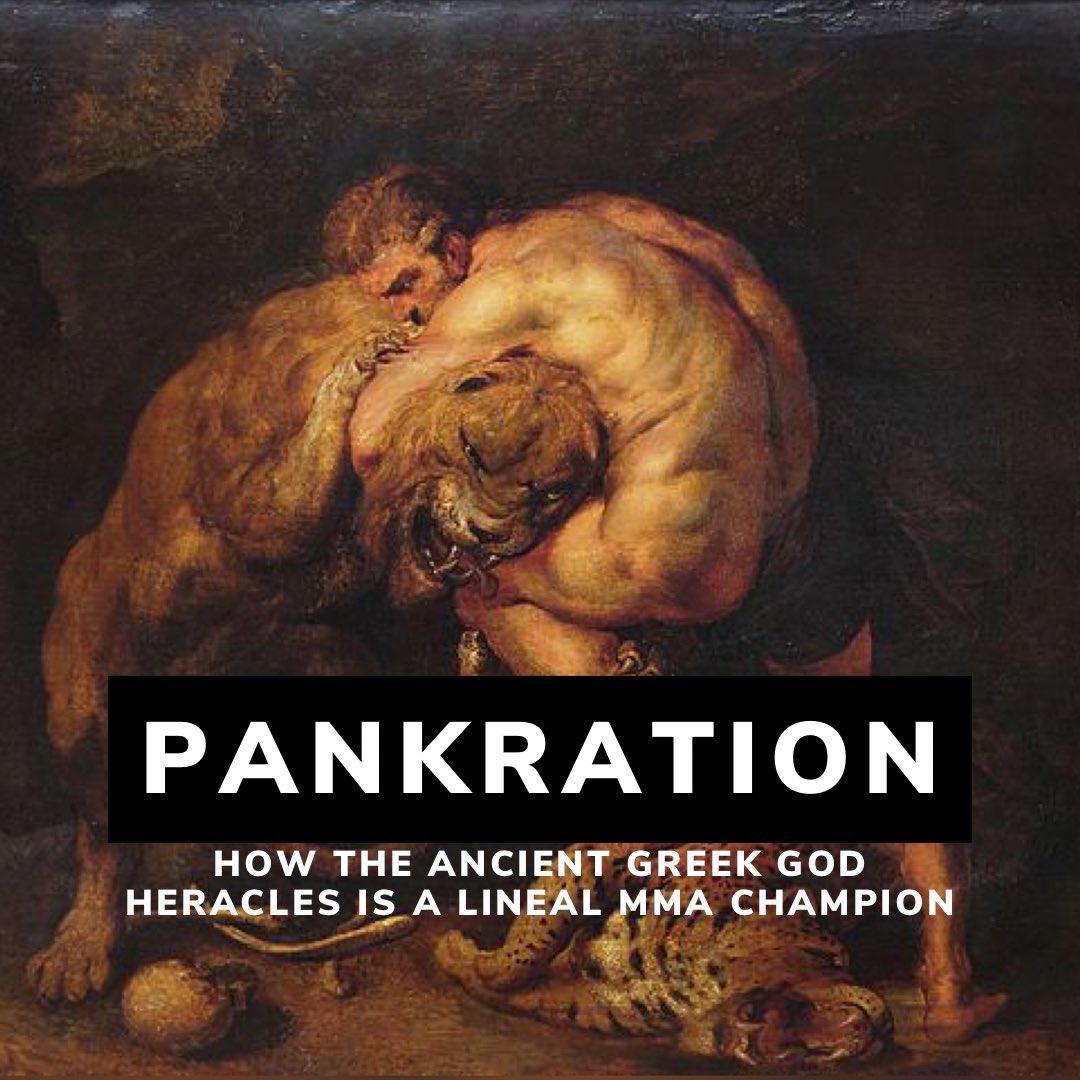 podcast on pankration