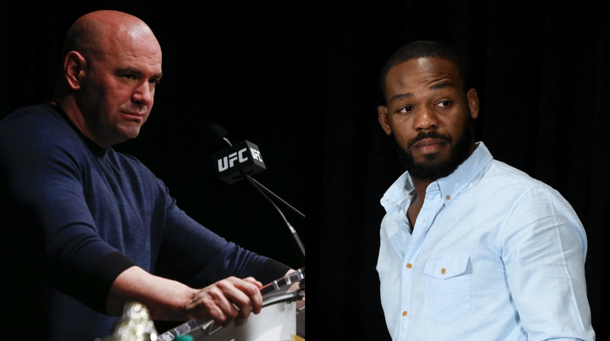 Dana White confirmed the fight between Derrick Lewis versus Francis Ngannou, and spoke about the future of Jon Jones.