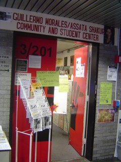 Door to The Morales / Shakur Community and Student Center