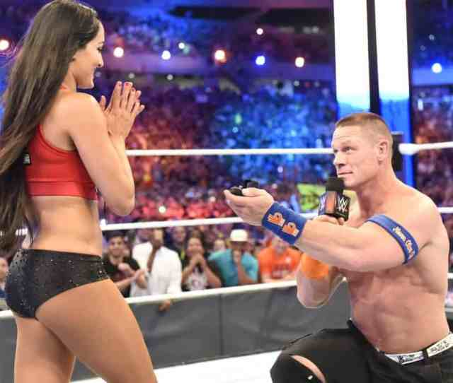 Fans Who Attempted To Ruin Cena Bella Proposal Were Disgraceful