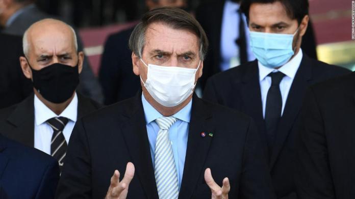 Brazil's President Jair Bolsonaro'
