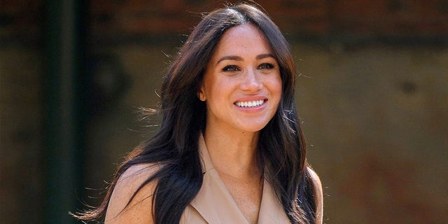 Meghan Markle told a group of young girls to 'challenge injustice.'