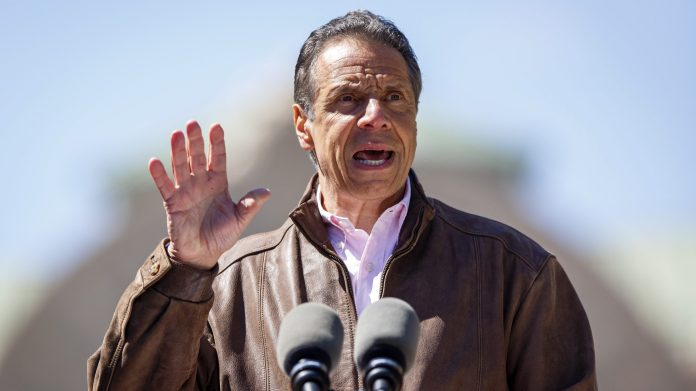New York Gov. Andrew Cuomo said the Empire State is looking at its legal options after losing a congressional seat following the 2020 Census. (N. Scott Trimble/Syracuse Post-Standard via AP)