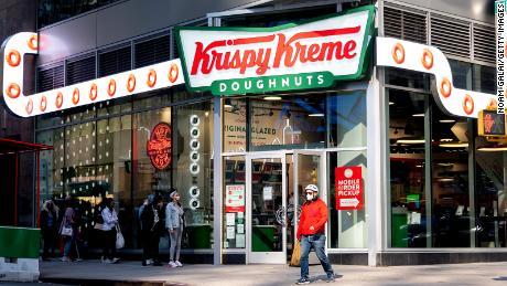Krispy Kreme is preparing to go public