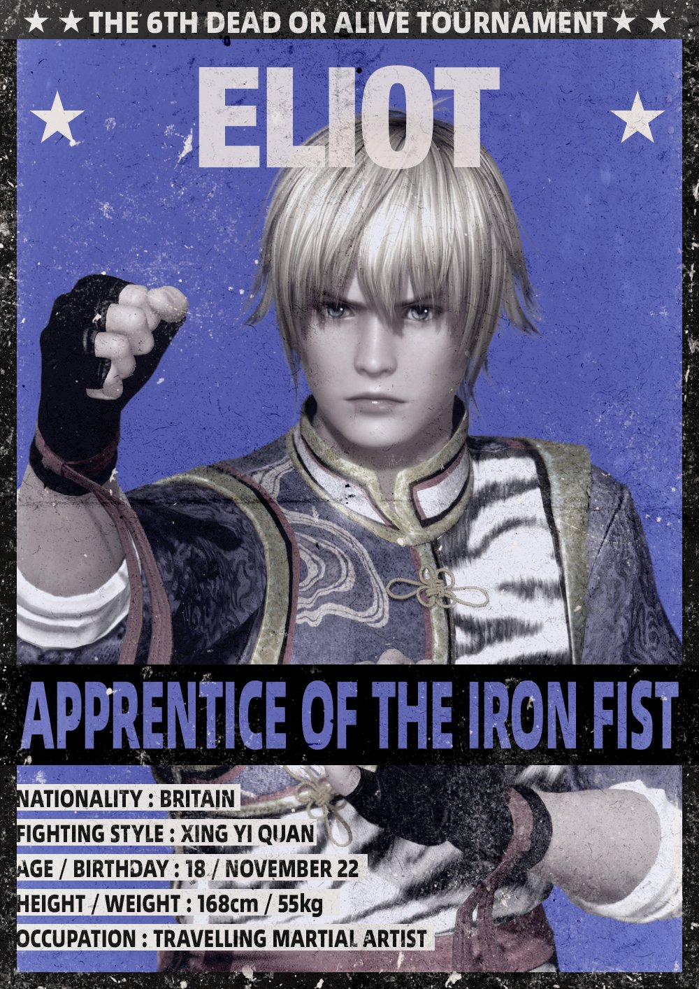 Dead Or Alive 6 Character Profile Cards Gallery