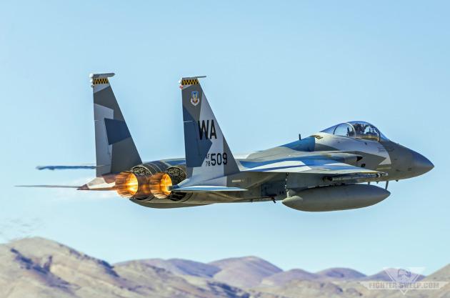 A Boeing F-15C Eagle - Nellis Air Force Base