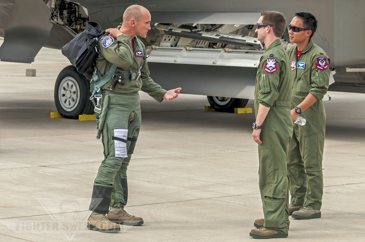 Military pilot uniform