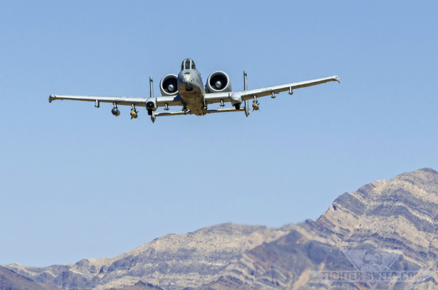 Green Flag: JTACs and A-10s Attack