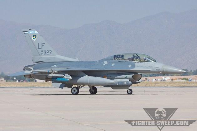 USAF F-16Ds Return to Service
