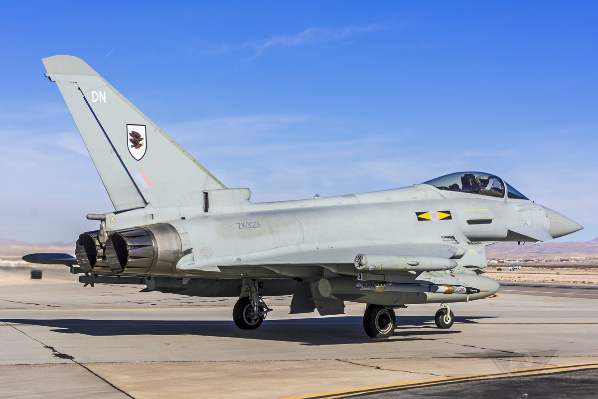 From The Cockpit: RAF Eurofighter Typhoon | Fighter Sweep