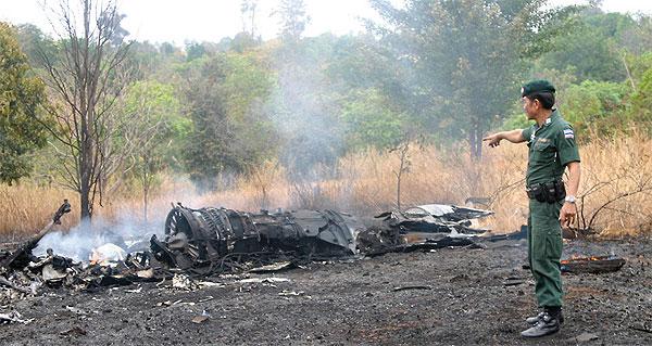 Royal Thai Air Force F-16 Crash