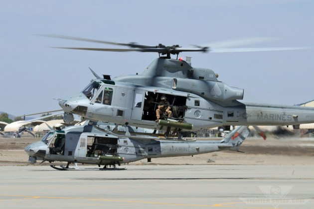 USMC UH-1Y 168319 (HMLA-267 UV-06) (LS2) [NYL 11Apr2013] - Curt Jans