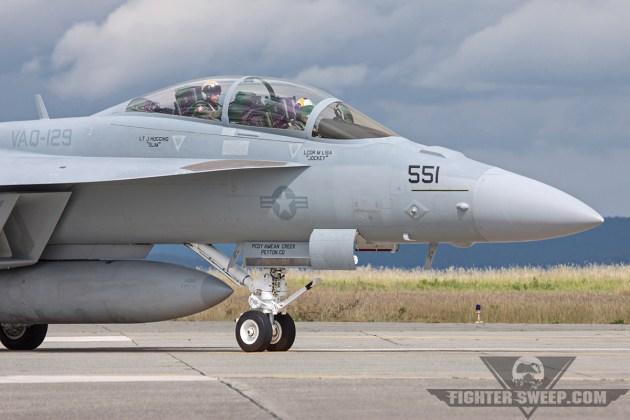 RAAF Trains on EA-18G Growler with US Navy