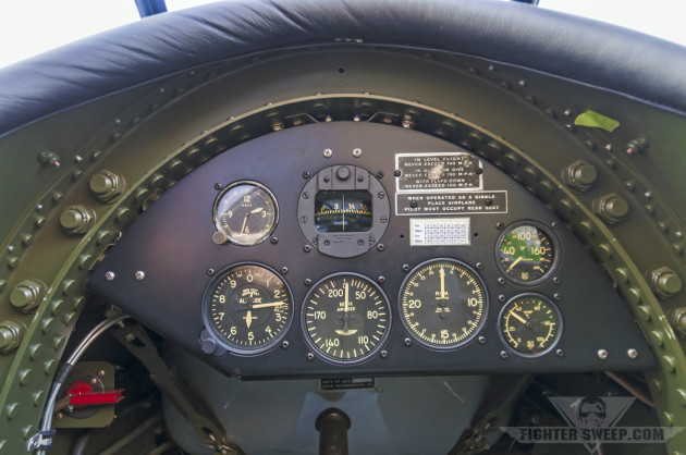 The front office of the author's Ryan PT-22.