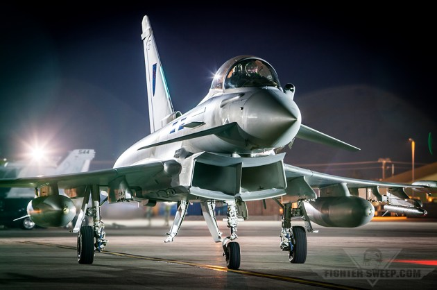 Eurofighter Typhoon First Flight