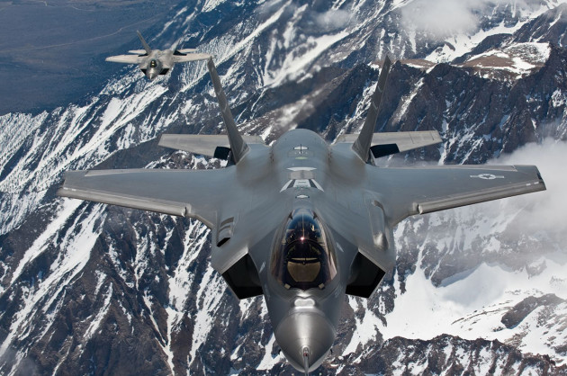Lockheed Martin's 5th gen fighters (Lockheed Martin photo by Darin Russell)