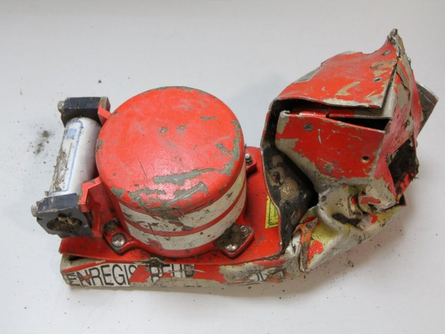 """One of the """"black boxes"""" from the Germanwings A320 (Photo: The Bureau of Enquiry and Analysis for Civil Aviation Safety)"""
