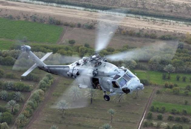 HCS-5 over Iraq