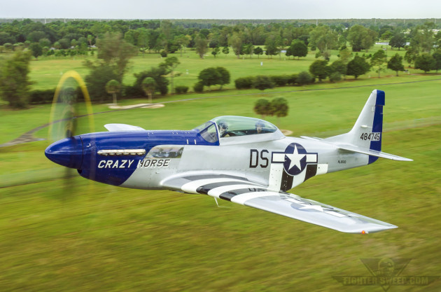 Owning and operating a P-51 Mustang is not for the faint of heart. It costs well in excess of $3,500 dollars per hour to operate one of these magnificent aircraft.