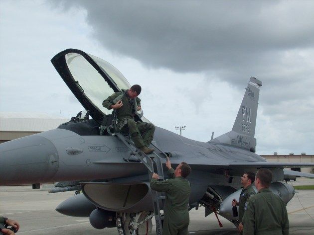 There I Was: F-16 Fini-Flight